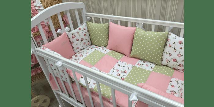 Комплект постельного детского белья Мотылек на липучках