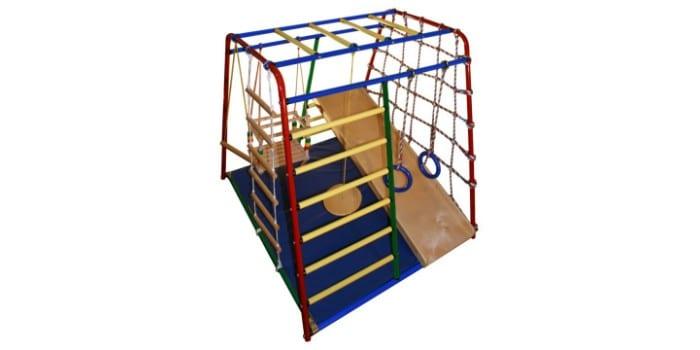 Детский игровой комплекс ВЕРТИКАЛЬ Веселый Малыш Wood