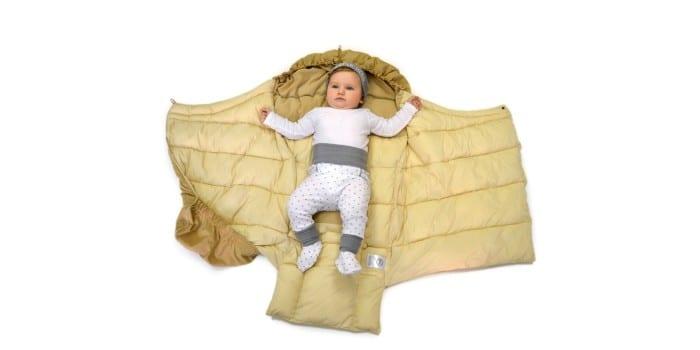 Одеяло-трансформер на синтепухе Happy Baby Muffy