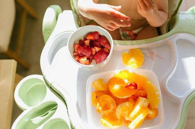 Введение новых продуктов в детский рацион