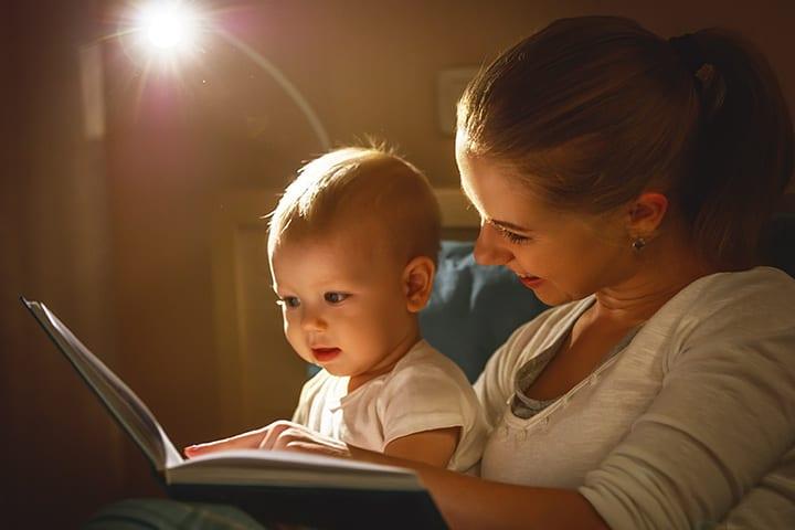 Чтение книжки