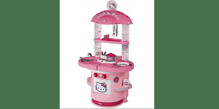 Детская кухня из пластика Smoby Hello Kitty