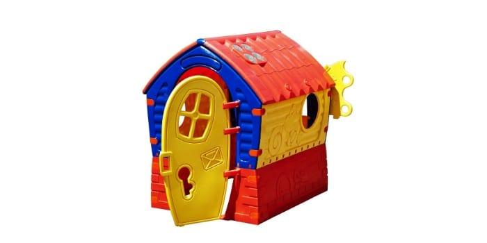 Пластиковый складной домик для детских игр Лилипут от Marian Plast