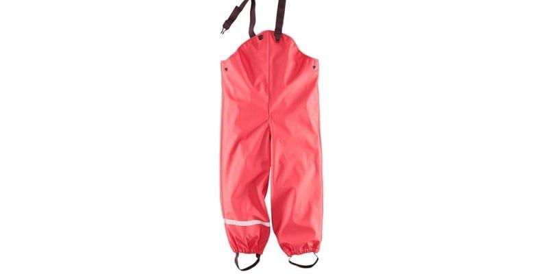 Непромокаемые штаны для девочки