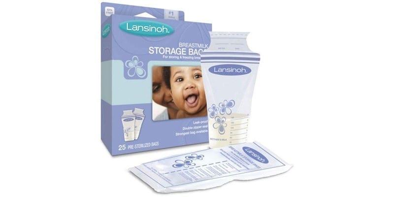 Пакет для грудного молока Lansinoh