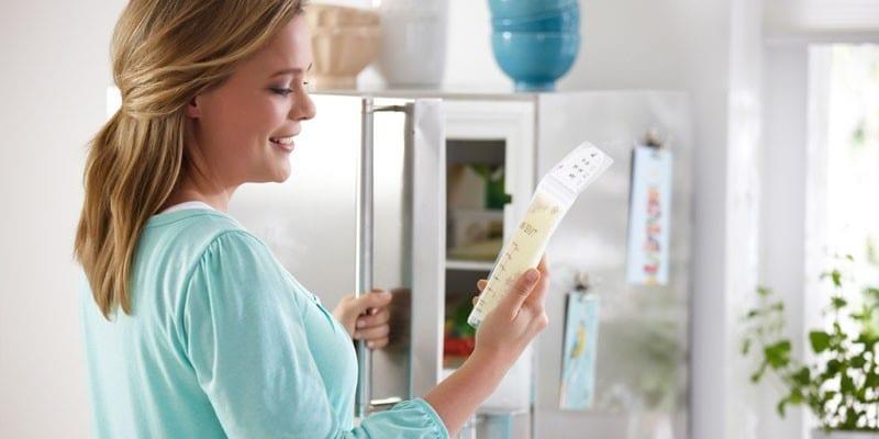 Преимущества пакетов для замораживания грудного молока