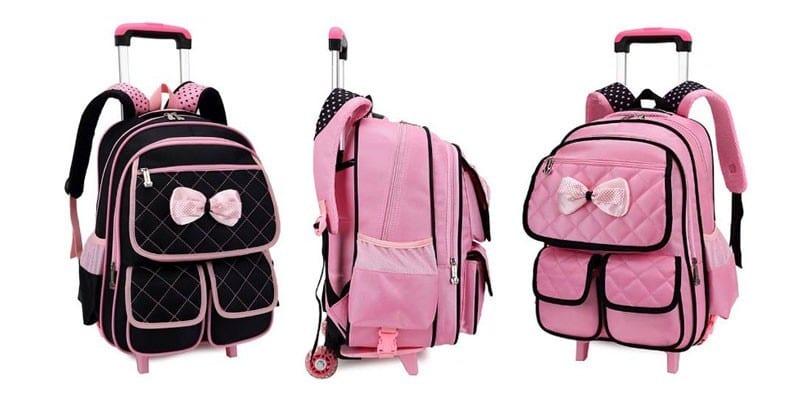 Школьный рюкзак на колесиках