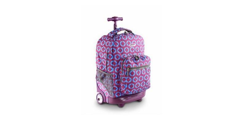 Большой рюкзак на колесах