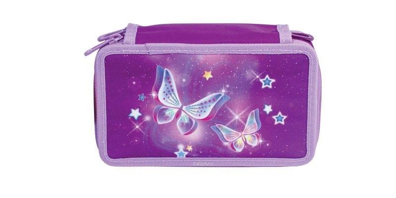 Пенал для девочки Tiger Family Starry Butterflies