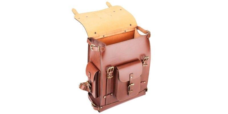 Кожаный рюкзак Максимус 3