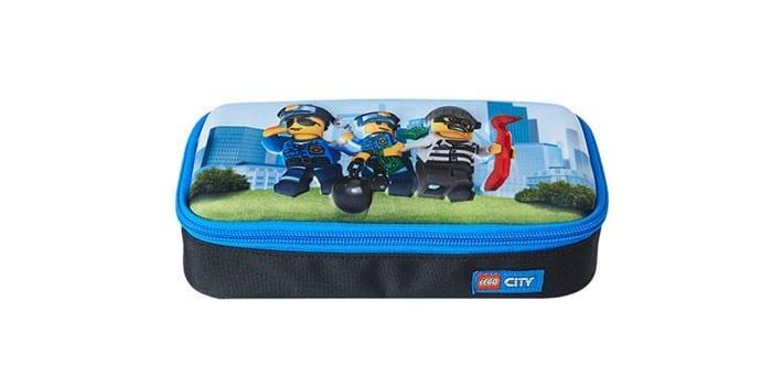 Пенал для мальчиков Lego CITY POLICE CHOPPER