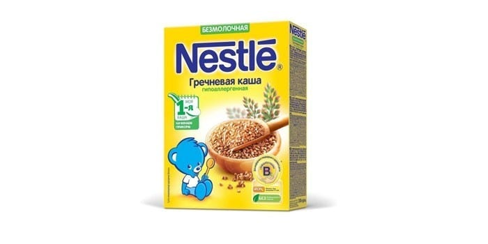 Безмолочная Nestle