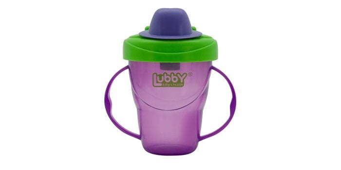Чашка-непроливайка Lubby Классика