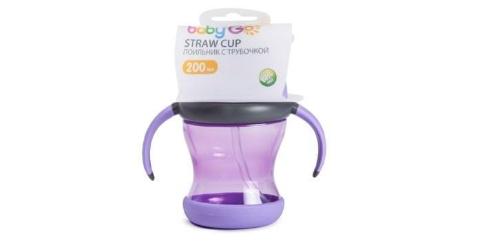 Чашка Baby Go Straw cup