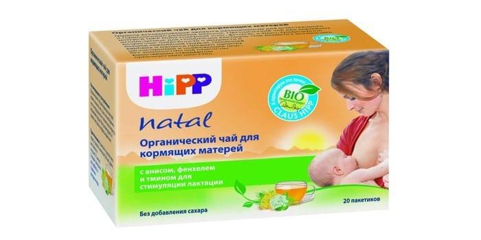 Органический чай для кормящих матерей