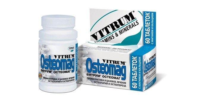 Витамины Витрум Остеомаг