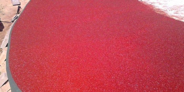 Бесшовное покрытие из цветной резиновой крошки, ООО ИнтерЭко