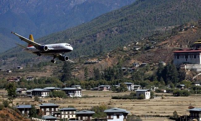 Паро в Бутане, Гималаи