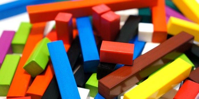 Разноцветные счетные палочки