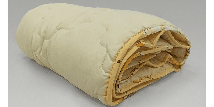 Зимнее детское одеяло с сатиновым чехлом Nature