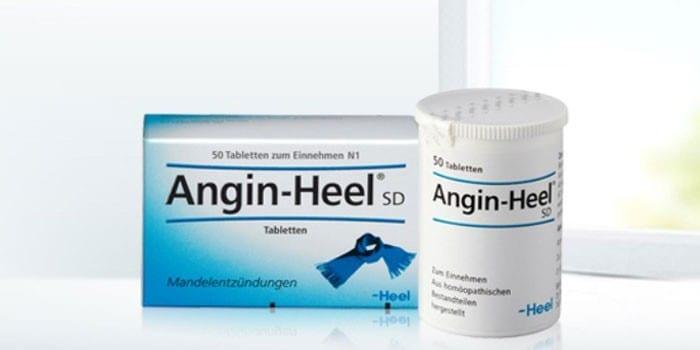 Препарат Ангин-Хеель разных форм выпуска