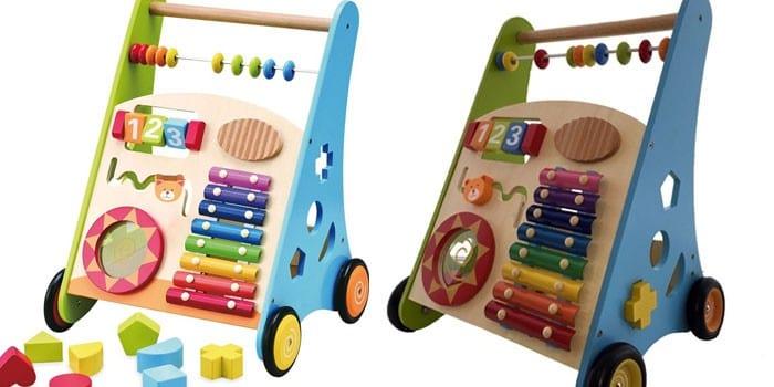 Деревянные ходунки развивающие Kids4Kids Мои первые шаги