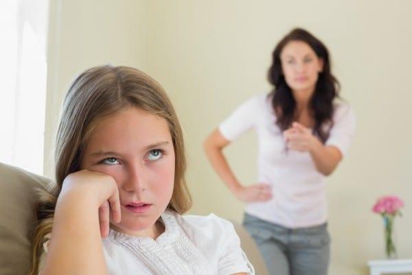 Мать и дочь скандалят