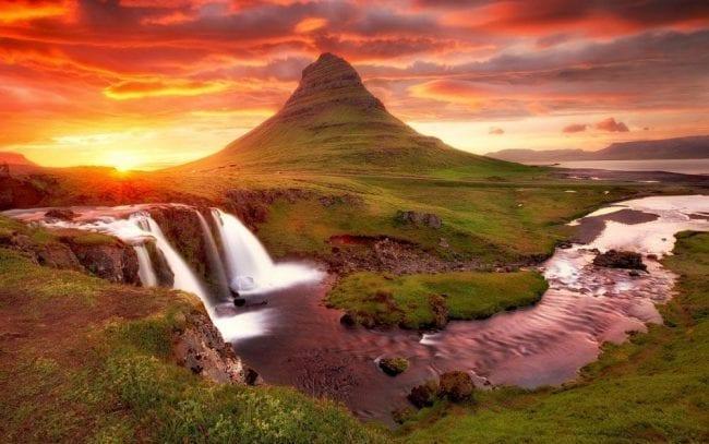Киркьюфелл, Западная Исландия