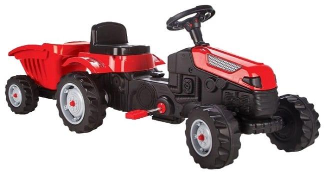 Трактор с прицепом на педалях Pilsan Tractor