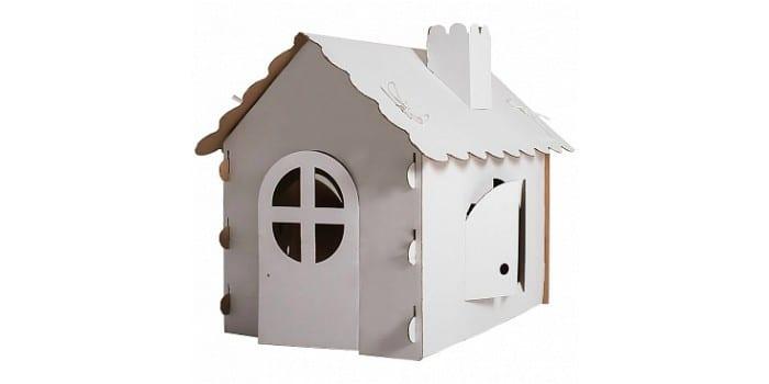 Складной картонный домик РуРу