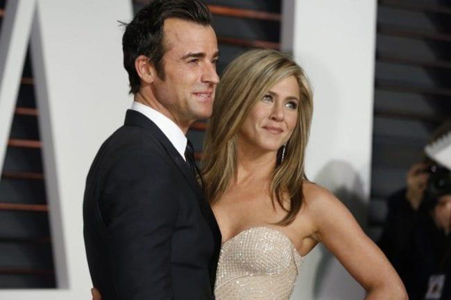 Дженнифер Энистон с мужем