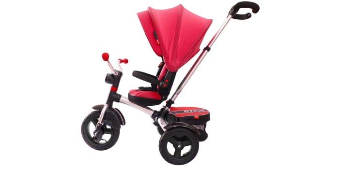 Детский велосипед RT ICON 6 LUXE Aluminium cherry