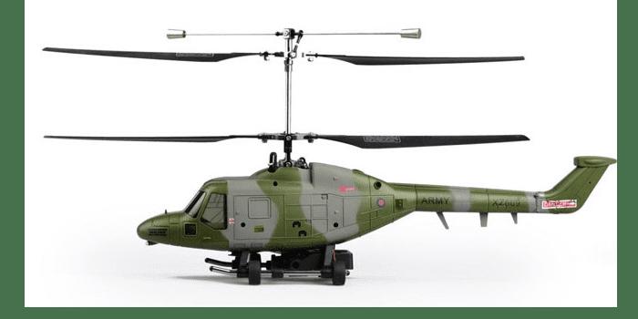 Детский военный вертолет на радиоуправлении Hubsan Westland Lynx H201F