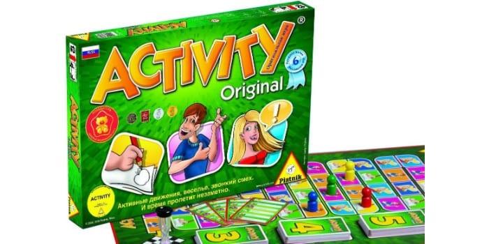 Настольная игра для большой компании Активити