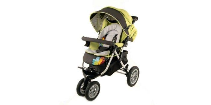 Детская трехколесная прогулочная коляска CAPELLA S-901