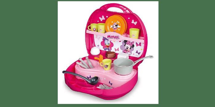 Портативная игрушечная кухня в сундучке Минни Smoby