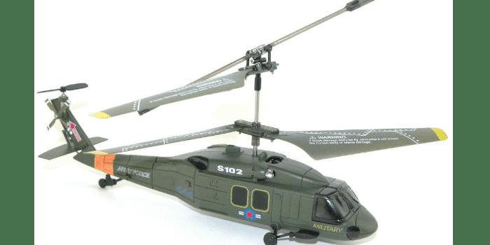 Модель детского радиоуправляемого вертолета Syma S102G