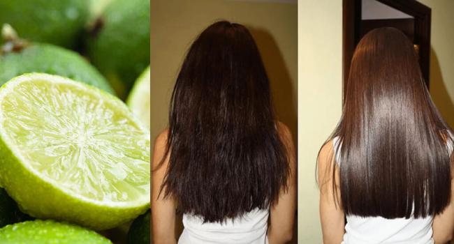 Лайм - выпрямитель волос