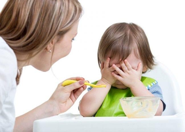 Нежелание есть у ребенка