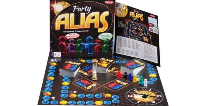 Настольная игра для большой компании Alias Party