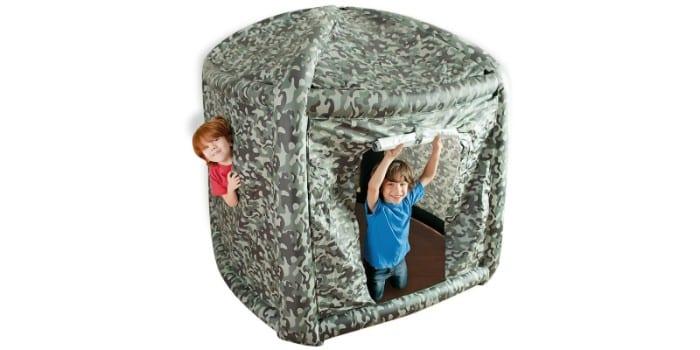 Надувная игровая палатка Intex Camouflage