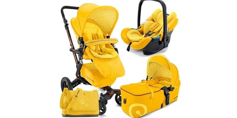 Модель 3 в 1 желтого цвета