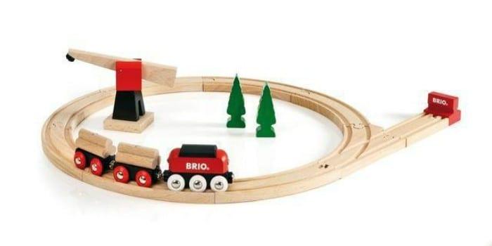 Железная дорога из дерева Brio 33010