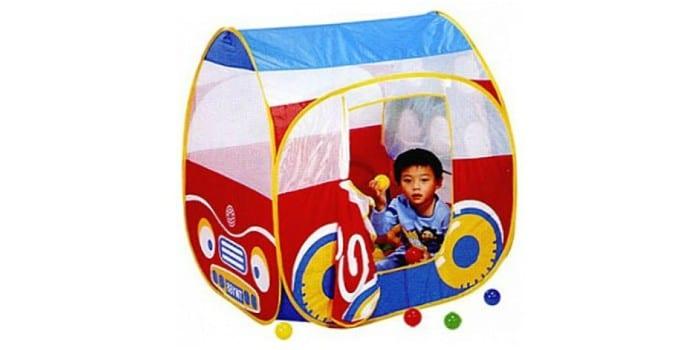 Ребенок в игровом домике Calida Автомобиль 654