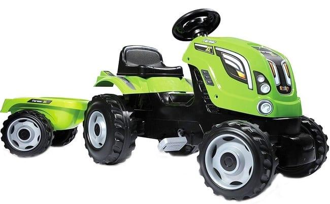 Smoby Трактор XL с прицепом
