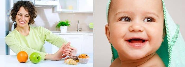 Полноценное питание кормящей матери – залог здоровья ребенка