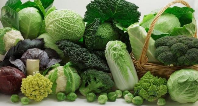Овощи из семейства крестоцветных