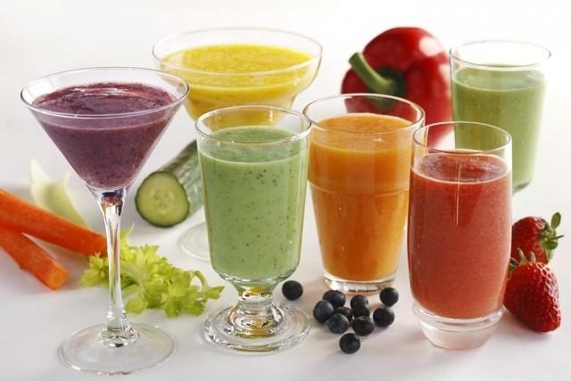 Смузи из овощей и фруктов