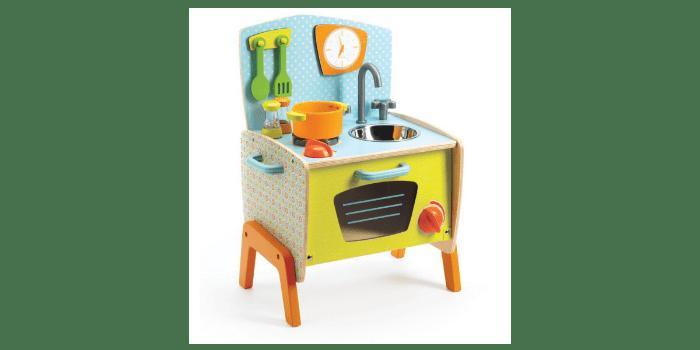 Небольшая винтажная игрушечная кухня Djeco Габи 06517