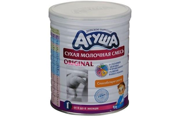 Агуша - сухая молочная смесь